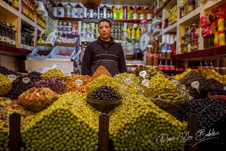 Épicier marocain