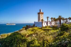 Cap Spartel, promontoire à l'entrée du détroit de Gibraltar, à 12 km à l'ouest de Tanger, Maroc