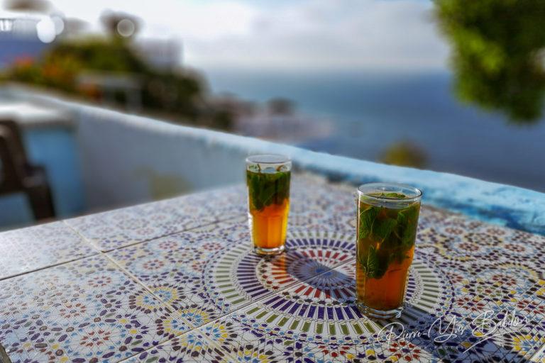 Café Hafa, Tanger, Maroc